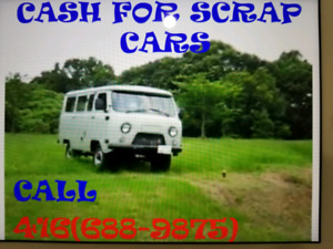 ♻️♻️$$Cash$$FOR SCRAP CARS & used CARS 4166889875
