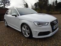 BIG SPEC + WHITE 2013 Audi A3 2.0 TDI 150 Diesel Sportback * S Line * PAN ROOF *