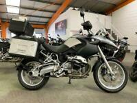2005 55 BMW R1200GS, GOOD CONDITION WITH FULL LUGGAGE, £5290 OR FLEXIBLE FINANCE