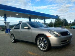INFINITI G35 2003 LUXURY EDITION SPECIAL