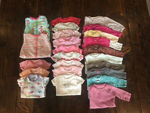 EUC Baby Girl 3 Month Clothing 31 Pieces