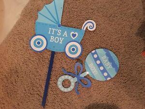 It's a boy decorations