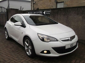"13 13 VAUXHALL ASTRA GTC 2.0 CDTI SRI COUPE 3DR WHITE 19"" ALLOYS BODYKIT B/TOOTH"