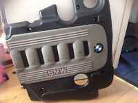 Bmw 5 series engine cover (damaged)