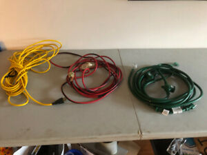 14 Extension Cords (various lengths & styles) 5.00-40.00 each