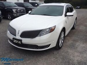 2014 Lincoln MKS EcoBoost  - Leather Seats -  Cooled Seats