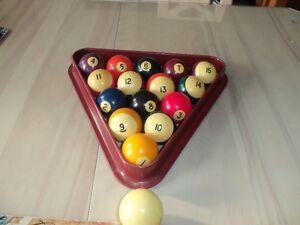 boules de billard / pool & snooker de marque Belge  $25.00