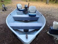 2008 G3 14 ft with 20 hp -4- stroke Yamaha and trailer