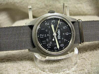 Vintage Hamilton 9219 Model Khaki Field watch, Origial cal. 649 Hack movement!