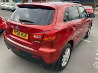 2010 Mitsubishi Asx 1.6L 3 5d 115 BHP Hatchback Petrol Manual