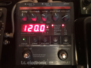 TC Electronic Nova Delay ND-1 Guitar Delay Pedal