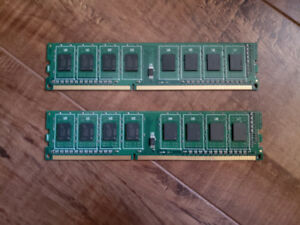 DDR3 Ram, Two 4GB Sticks-Excellent Conditions