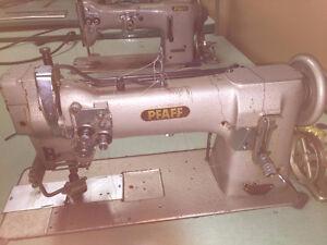 Machines à Coudre Industrielles PFAFF 2 aiguilles