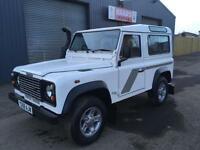 2001 land Rover Defender 90 2.5 TD5 County Station Wagon * 6 SEATER * 109k *