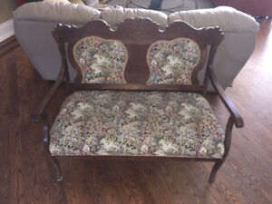 Antique Settee Two-Seater