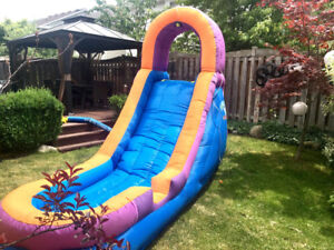 AquaWave Inflatable Water Slide By Sportcraft. Great Condition !