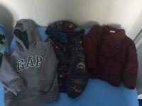 Boys jackets 18-24 months