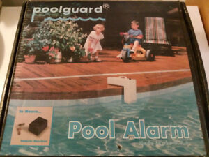 Pool Guard - Pool Alarm with in home remote receiver