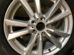 Brand new 255/55 R18 BMW X5 original winter  TIRES and Rims