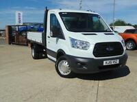 2015 Ford Transit 2.2 TDCi 350 L2 H1 125ps Chassis Cab 2 door Tipper