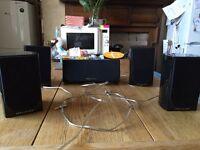 Home Cinema. Wharfedale DX1, Yamaha RX - V675 Amp