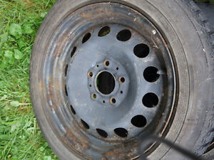 Steel Rims and Tires from BMW 323 West Island Greater Montréal image 1