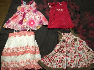 Vêtements fille été 12 mois -18 mois