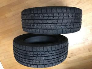 Winter tires Dunlop 205/55/R16 (2x): pneus d'hiver