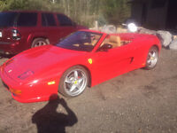 1999 FERRARI F355 SPIDER F1 - PROFESSIONALLY BUILT CAR