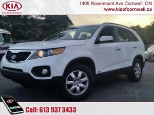 2013 Kia Sorento LX AWD  | All Wheel Drive | Local Trade | Low K