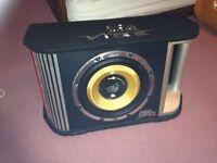 Vibe 1800 watt sub with amp £105