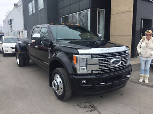 2017 Ford F-450 Platine Camionnette