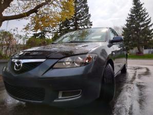 Mazda 3 Sedan Grey.