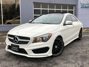 2015 Mercedes-Benz CLA-Class CLA250 4MATIC-AMG PKG-PANORAMICROOF