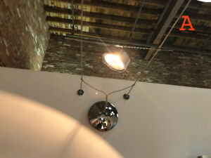 2x Prima Lighting Cable System light fixtures