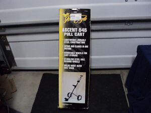 BRAND NEW!! GOLD EAGLE ASCENT 545 GOLF PULL CART! BNIB!!