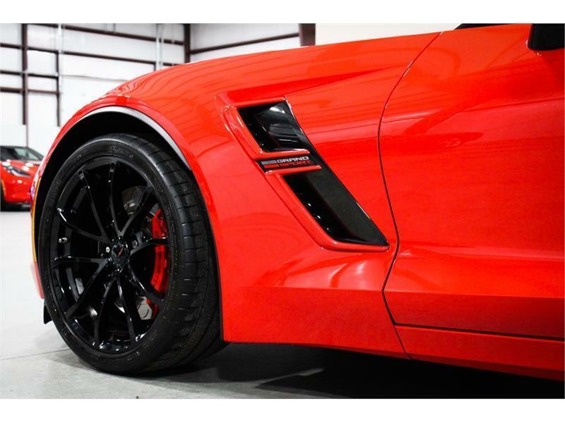 2019 Red Chevrolet Corvette Grand Sport 1LT   C7 Corvette Photo 10