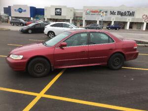 2002 Honda Accord LX Sedan V6 - I will safety the car