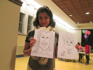 CARICATURE Artist Available for Parties and Events.. St. John's Newfoundland image 5