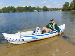 Sea Eagle Portable Kayak 330 with Pro Package