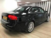 Audi A4 2.0T Quattro S Line Black WARRANTY 12 MONTHS MOT FULL SERVICE H
