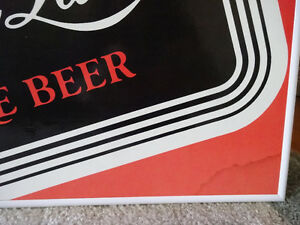 Foster's and Carling Black Label cardboard framed signs Cornwall Ontario image 2