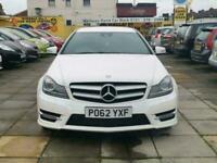 2012 Mercedes-Benz C Class C220 CDI BlueEFFICIENCY AMG Sport Plus 2dr Auto COUPE