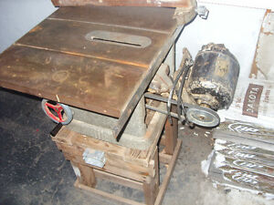 table saw vintage