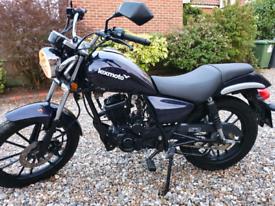 Lexmoto ZSB 125 cc Cruiser motorbike 2016 excellent. May p/ex swap
