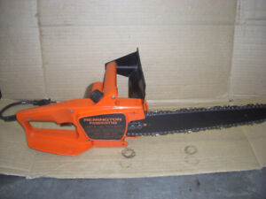 Remington Electric Chainsaw with a new Chain