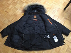 Men's Kodiak Black XL Parajumpers Jacket