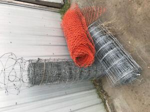 Sheep fence & snow fence