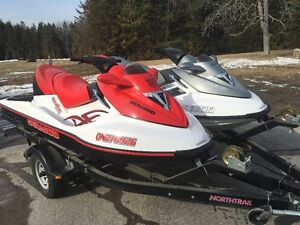 Pair of 2006 Seadoos with Trailer ( Package Only)