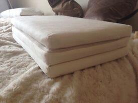 Little Green Sheep Organic travel cot coir mattress 60 x 120 baby Bed